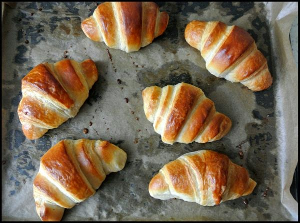 Croissants od zera – sprawdzony przepis.