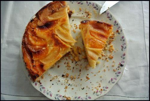 Odwrócone ciasto ucierane – wilgotne… z niespodzianką