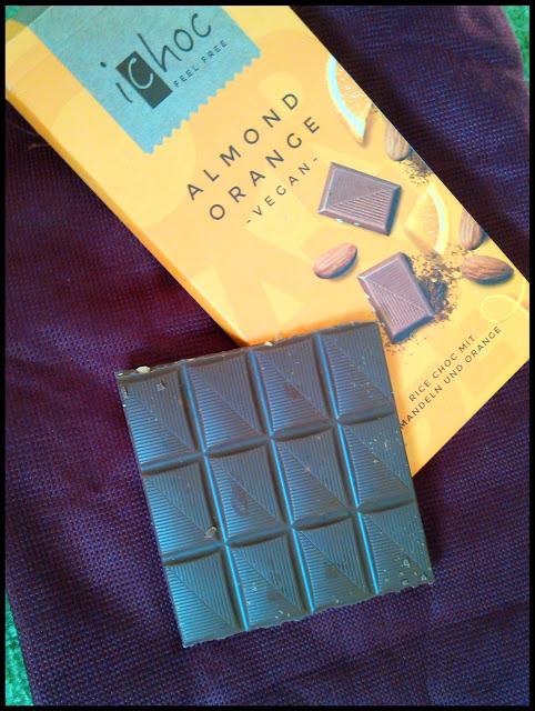 Moja opinia – Wegańska czekolada z migdałami