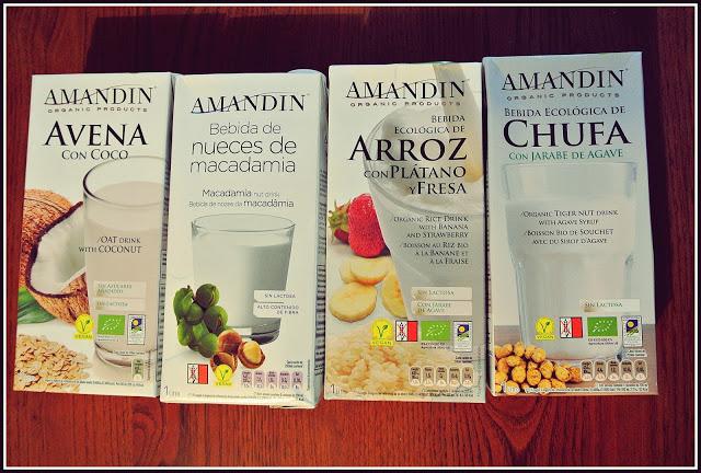 Amandin- raj dla wegan!