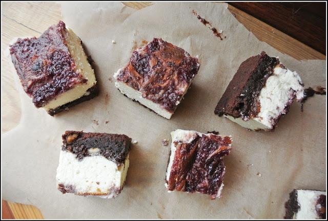 Sernik wyjątkowy – z czekoladą i malinami