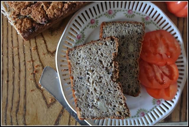 Cebulowy chleb bezglutenowy – pyszota!