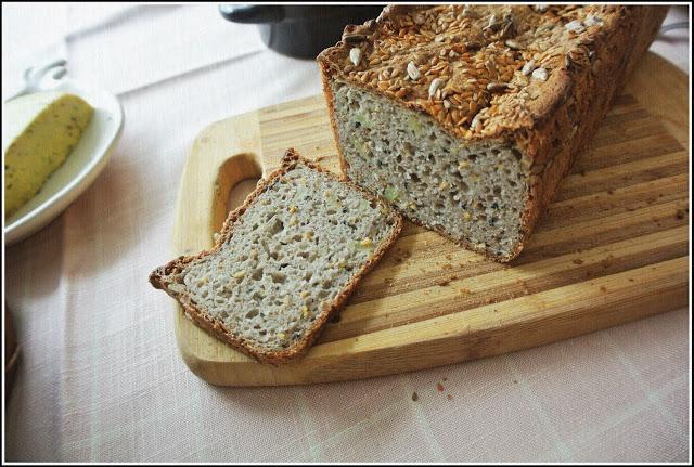 Chleb gryczano-ziemniaczany (bez glutenu)