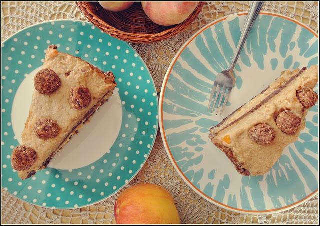 Wegański Tort wanilia-czekolada-orzech!