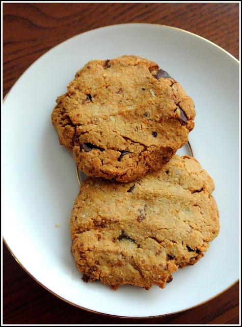Najprostsze ciasteczka wegańskie- bez cukru