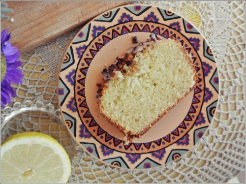 Cytrynowe ciasto z kokosową kruszonką