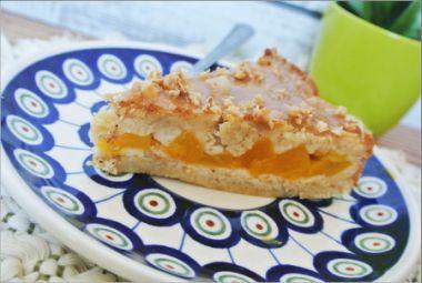 Maślane ciasto z brzoskwiniami- poezja! (opcja wegańska)