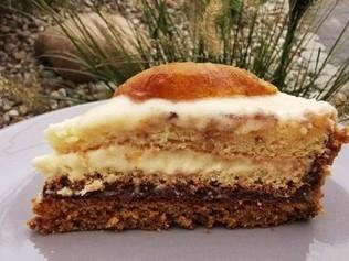 tort z gruszkami i kremem waniliowym (paleo, bez cukru)