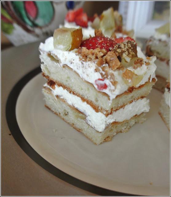 napoleonka, napolenik, ciasto z kremem, ciasto francuskie,