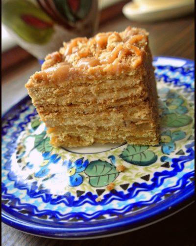 medovik ciasto miodowe