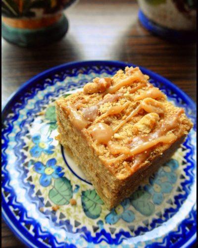 marlenka ciasto z masą karmelową